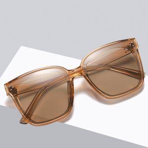 FONDYI na moda elegante Womens polarizado UV400 Sunglasses High End Qualidade Shades Sun Glasses Compras Partido Eyewear com caso
