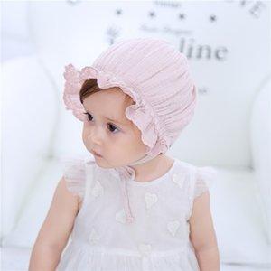 FEzyC coreano nuova primavera e l'estate del cappello della principessa del cotone baby ragazzi e ragazze di 100 giorni bambino pneumatico estivo cappello della protezione del pneumatico Cap bimbo Gong Tingmao