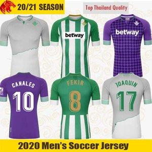 20 21 Real Betis Camisetas de fútbol CANALES 2020 2021 JOAQUIN FEKIR Camisetas EMERSON Betis LOREN Camisetas