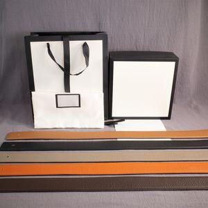 Moda de Nova Mulher Homem Belt Cintos de couro 3 cores Suave fivela de cinto Largura 38 milímetros Hot Sale qualidade superior com caixa