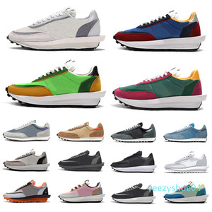 Varsity Blue ldv waffle Daybreak Casual Shoes Summit White Black Nylon Wolf Grey platform Women men trainers Sports Sneakers Chaussures y04