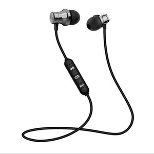 Magnetic Headphones Noise Canceling In-Ear XT-11 Headsets Bluetooth Wireless Earphones for iP8 8s Max Samsung with Retail Box