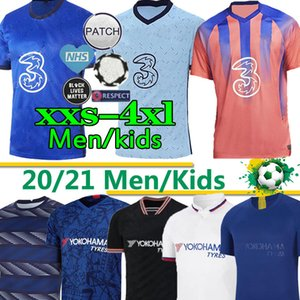 20 21 아브라함 베르너 HAVERTZ CHILWELL ZIYECH 축구 유니폼은 2021 PULISIC 축구 셔츠 KANTE MOUNT 남자 아이 키트 태국을 설정 2020