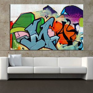 Posters and Prints on Graffiti Art Canvas Street Murals Pictures Living Room Cuadros Home Decor No Frame