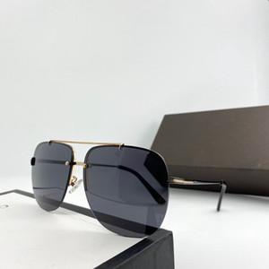 0620 جديد أزياء مصمم النظارات الشمسية مربع معدن إطار نظارات أعلى جودة النمط الشعبي نظارات ذائع UV400 حماية مع حالة