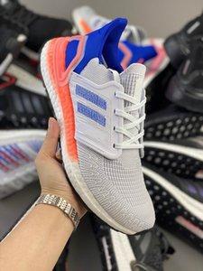 Buque rápido UltraBoost 2020 Consorcio 6.0 calcetería de punto superiores de ocio deportivo para correr Zapatos del hombre al aire libre de los zapatos corrientes para mujer