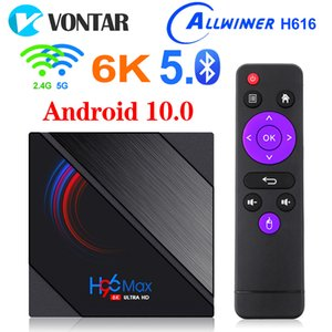 H96 Max H616 Android 10 TV Box 2GB 16GB Allwinner 2.4G 5G WiFi Bluetooth 6K Set Top Box vs TX6S T95 T95H