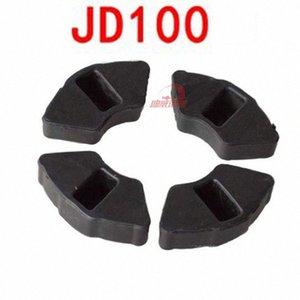4pieces / set de la motocicleta tope de goma pegatina de bloque para JD100 JD 100 # 100cc o0B2