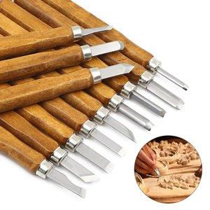 13pcs / Set DIY del grabar en madera Cuchillo scorper tallando las herramientas de la carpintería Hobby Artes Crafts mellar cortador Graver bisturí Herramientas Lo nuevo