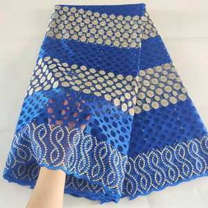 New African Tulle Lace Fabric With Stone Dress Material Latest Lace Fabric 2020 French Nigeria Lace Fabric For Wedding Dresses