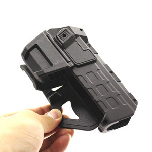 New Tactical Movable Pistol Holsters for 1911 with Flashlight or Laser Mounted Right Hand Waist Belt Gun Holster