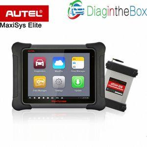 AUTEL MaxiSYS Elite Berufsdiagnosewerkzeug mit J2534 besser als MS908P Pro Unterstützungs-ECU-Programmierung WsYm #