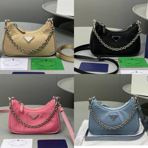 Mejor marca bolsos de las mujeres superventas de la manera de 3 piezas / set bolsos de lujo de diseño bolso crossbody bolsa de nylon vendimia bolsos de hombro individual monederos