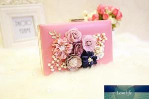 Pink Total Fashion Women Evening Bag Brand Party Banquet Glitter Bag for Ladies Wedding Clutches Handbag Shoulder Bag Chain