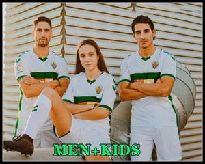nouveau 20 21 CF ELCHE SOCCER MAILLOTS ACCUEIL RODRIGUEZ FIDEL chemisettes de Fútbol 2020 2021 Pere Milla Dani Calvo Josan hommes enfants maison FOOTBALL SHI