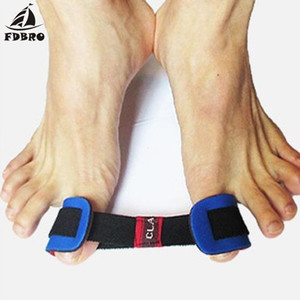 FDBRO Fitness Foot Bone Thumb Training Training Partido Entrenamiento Tensión Corrección Cinturón Foot Care Correction Band Band Bands