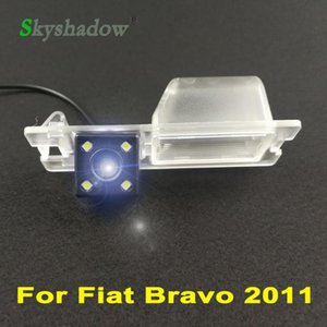 For Bravo 2011 Car CCD 4LED HD Night Vision Reverse Vehicle Backup Parking Assistance Waterproof Reversing Rear View Camera