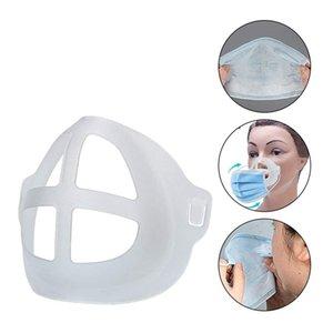 3D Masque Masque nasal Support Pad Masques Visage de soutien interne Support Protection Rouge à lèvres Cadre PP transparent Masques Support 5pcs / Pack