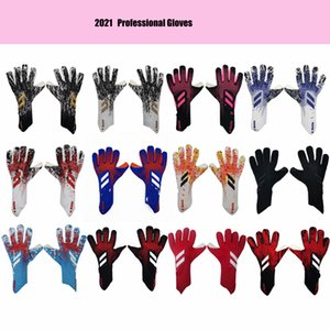 2021 new size 8 9 10 professional Goalkeeper Soccer Goalie gloves Football Anti-slip Gloves Sports Gloves