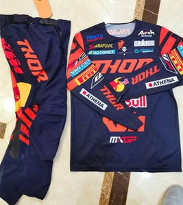 2020 Factory Racing team Moto Jersey ed i pantaloni Top ATV BMX Moto Motocross Gear Set MX Jersey Set