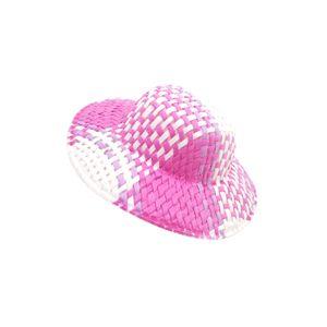 Круглый Bowler куклы плед Lattice Hat Cap для 1/12 Doll Куклы Дом РДЦ