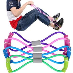 HBB Ev Sport Spor Yoga 8 Şekil Çekme Halat Tüp Ekipmanları Aracı Gym Egzersiz Rallisi