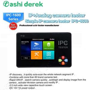 IPC1600 plus de 3,5 pouces à écran tactile Cctv-testeur de Ahd Cvi Tvi Ip Tester Caméra réseau sans fil CVBS EntAnalogique Moniteur vidéo