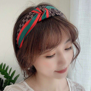 mixed style Turban Headband Elastic Hairband Hair Jewelry Accessories for Girls No Slip Stay on Knotted Head band Hair Band for Women A63