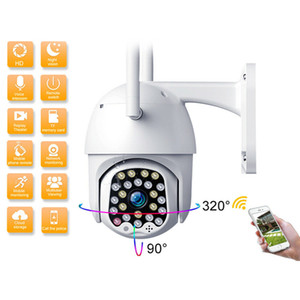 1080P Wifi PTZ Camera Outdoor 2MP Auto Tracking CCTV Home Security IP Camera Speed Dome Video Surveillance Cloud Storage