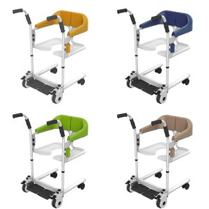 Hot sale Wheelchair with toilet transfer commode adjustable bath chair hospital nursing for elderly and disabled
