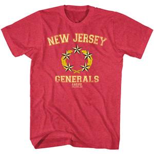 USFL New Jersey Generals Stars Men's T Shirt Trump East Rutherford Football Team