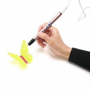 lihuchen RP900A 3D printing pen support ABS   PLA filament children's creative toy gift design 3D drawing pen design sR1s#