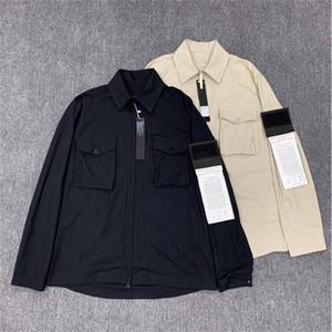 جديد CP TopStoney Pirate Company 2020 Konng Gonng الربيع والخريف جديد شبح سلسلة جيب البلوز هوديي سترة سترة