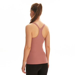 sport vêtements soutien-gorge de sport Yoga Gilet femmes veste de sport sous-vêtements sexy de peau nue amicale avec les sports de course poitrine pad dessus de yoga de fitness