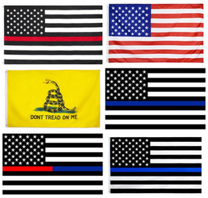 DHL Americal flags America Stars and Stripes Flags USA Presidential Election Flag Dont Tread on Me Gadsden Flag Outdoor Stardard