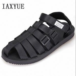 Ancient Roman Sandals Men Beach Shoes Baotou Cool Male Han Edition Leisure Shoes The New 2018 Summer Size 36 44 Sandals For Girls Chac JOP3#
