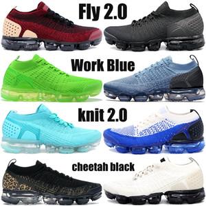Nuovo fly 2.0 scarpe da corsa raffreddare team di grigio rosso Triple nero bianco beige oro maglia 1.0 uomini delle scarpe da tennis delle donne stilista