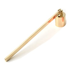 NEW Stainless Steel Candle Flame Snuffer Wick Trimmer Tool Multi Colour Put Out Fire On Bell Easy To Use GWA1566