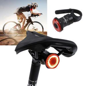 Capteur Liplasting vélo Intelligent Light induction Feux arrière vélo Sécurité équitation Veilleuse USB de charge Accessoires Vélo