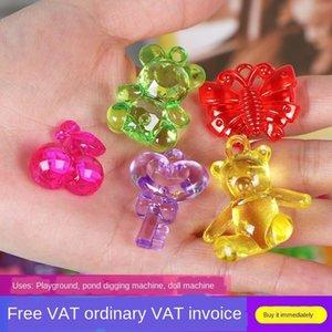 tx3h0 акриловые детские игрушки кристалл кристалл подарок игрушки красочный камень играть дома игра Treasure Hunt награда детский сад небольшой подарок