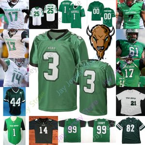2020 Marshall Thundering Herd Football Jersey NCAA Broc Thompson Darius Hodge Marquis Couch Curry Oliver Dobson Leftwich Pennington