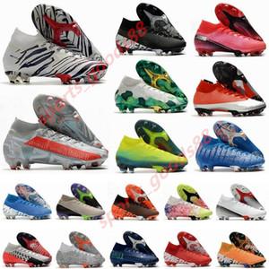 2020 Mercurial Superfly VII 7 360 Elite SE FG CR7 SAFARI Ronaldo Neymar NJR Mens dei ragazzi scarpe da calcio Scarpe da calcio tacchetti US3-11