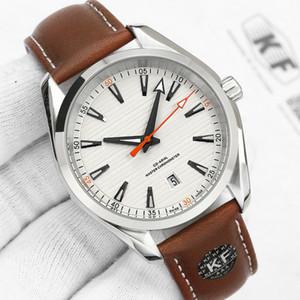 Uhr-Mode-Ledermens-mechanische automatische Männer Uhren 150M-Bewegung Uhr Folding Uhren Schließe Armbanduhren