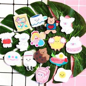 Cartoon coreano coração de patch crachá menina saco cute puppy broche pin acessórios