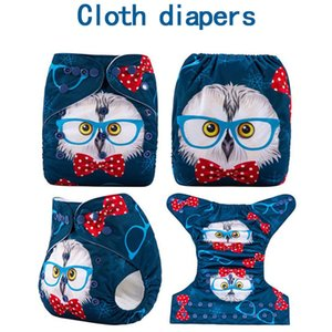Fangxin Brand New 1Pcs Reusable Adjustable Cloth DiaperBaby Nappies Washable Nappy Fit 3-15 Kg Baby Pocket Diaper