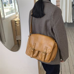 Ancient wearing girl cool broadband messenger bag female college feeling all-match ins shoulder bag