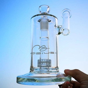 명인 장비 물 담배의 물 담뱃대의 18mm 관절 여과기 이동식 입 스테레오 매트릭스와 유리 기억 만 물 파이프