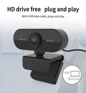 Full HD 1080P Webcam USB con cámara Mic mini computadora, giratorios flexible para ordenadores portátiles, de sobremesa cámara webcam educación en línea