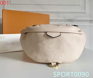 Le style original 2020 nouveau sac de ceinture de mode féminine en cuir embossé haute qualité sac banane bandoulière BB sac poitrine un morceau de sac de messager