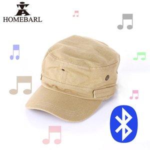 Practicar deporte de 1080P HD Video Recorder Acción cámara Bluetooth 4.0 Música del sombrero de apoyo máximo de 64 GB con el auricular